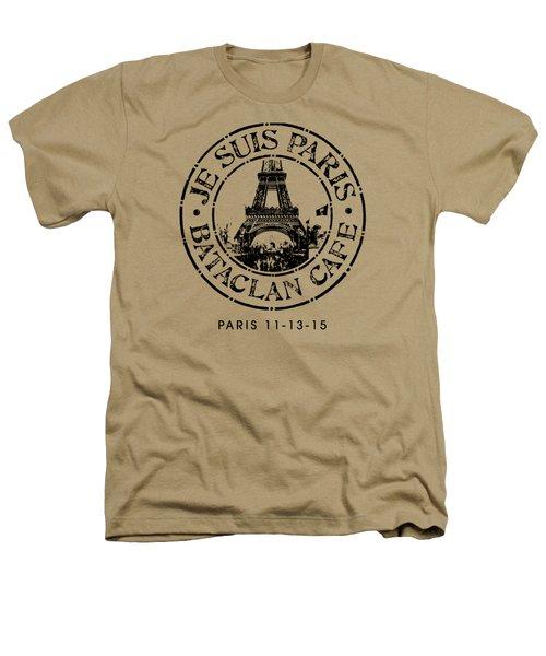Je Suis Paris Heathers T-Shirt by Gary Grayson