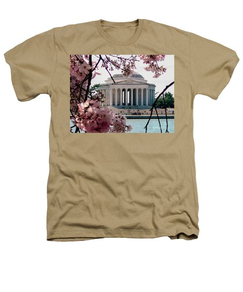 Jefferson Memorial Heathers T-Shirt