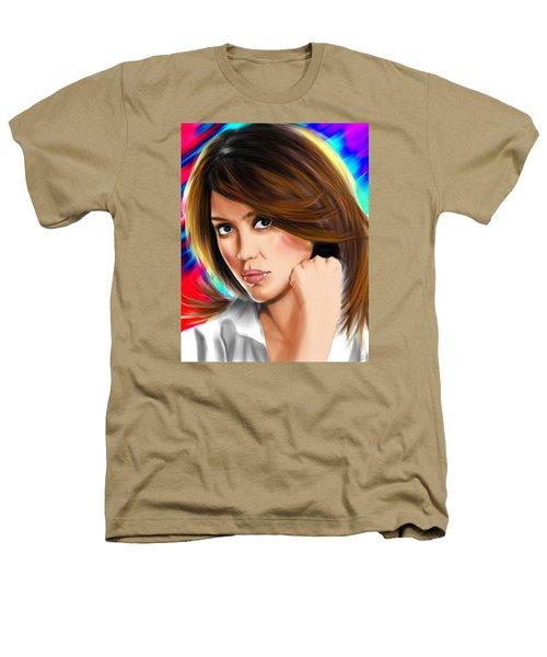Jessica Alba Heathers T-Shirt by Isaac Martinez