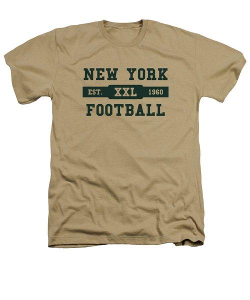 Jets Retro Shirt Heathers T-Shirt by Joe Hamilton