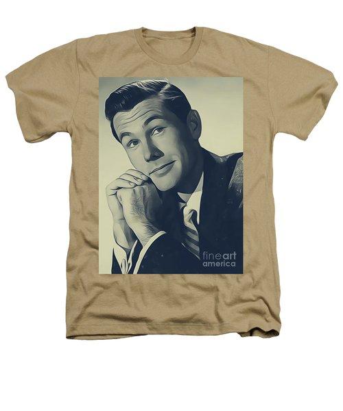 Johnny Carson, Vintage Entertainer Heathers T-Shirt
