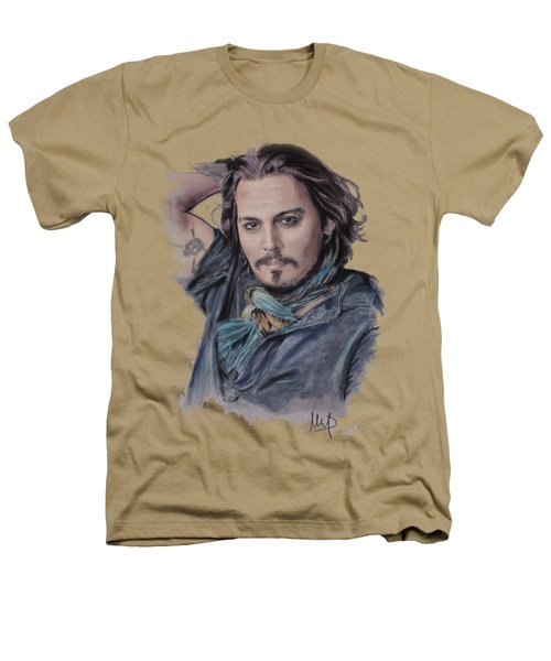 Johnny Depp Heathers T-Shirt by Melanie D