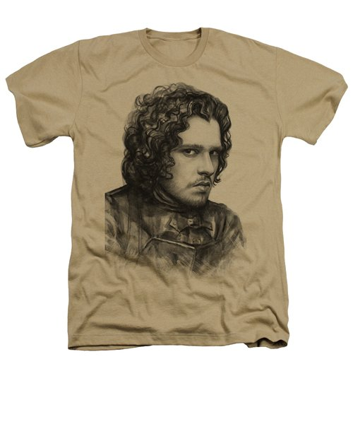 Jon Snow Game Of Thrones Heathers T-Shirt