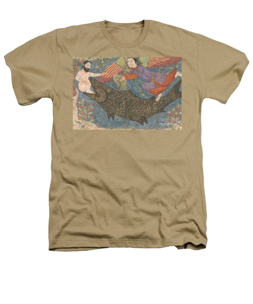 Jonah And The Whale Heathers T-Shirt by Iranian School