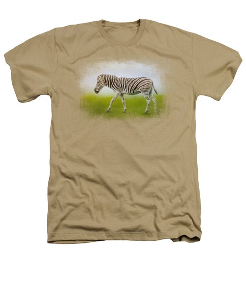 Journey Of The Zebra Heathers T-Shirt by Jai Johnson