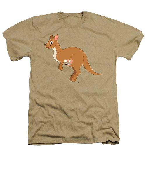 Mamma Kangaroo And Joey Heathers T-Shirt