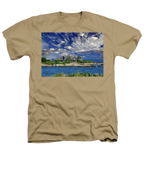 Kennebunkport, Maine - Walker's Point Heathers T-Shirt by Russ Harris