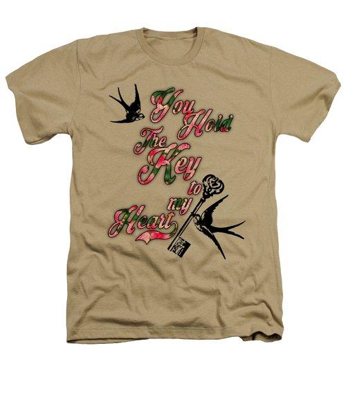 Key To My Heart Dictionary Art Heathers T-Shirt by Jacob Kuch