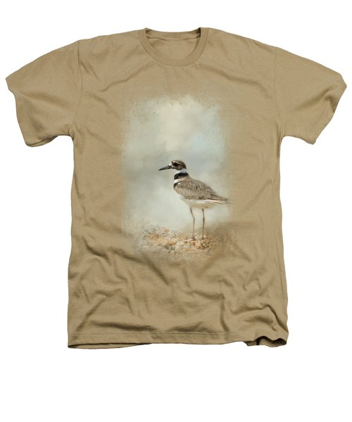 Killdeer On The Rocks Heathers T-Shirt