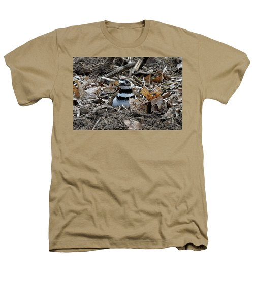 Killdeer On It's Nest 2682 Heathers T-Shirt
