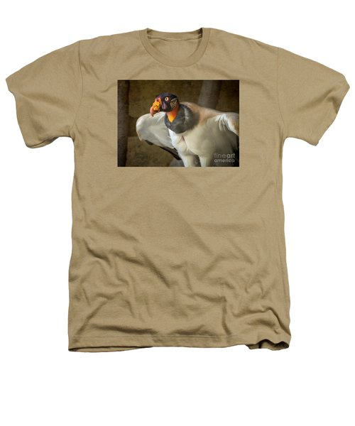 King Vulture Heathers T-Shirt by Jamie Pham