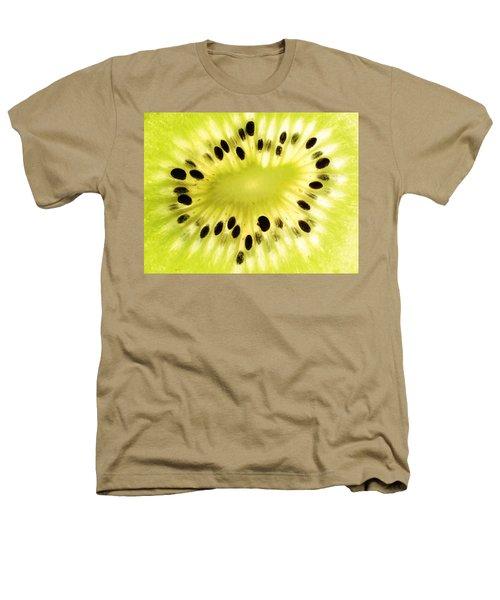 Kiwi Fruit Heathers T-Shirt by Paul Ge