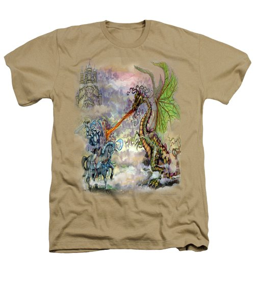 Knights N Dragons Heathers T-Shirt