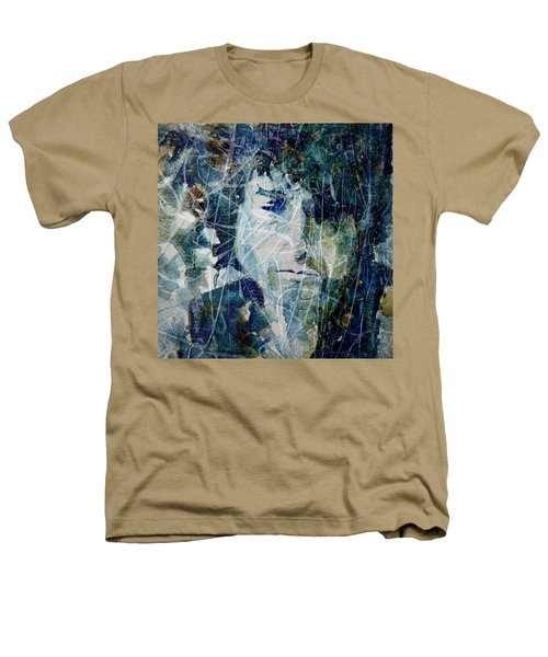Knocking On Heaven's Door Heathers T-Shirt by Paul Lovering