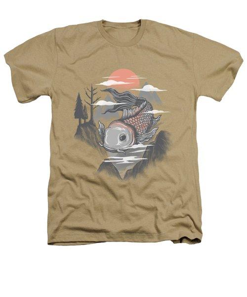 koi Heathers T-Shirt by Anggrahito Pramono