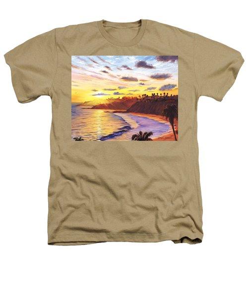 Laguna Village Sunset Heathers T-Shirt