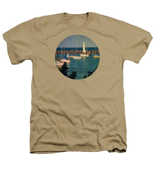 Lake Michigan Sailboats Heathers T-Shirt