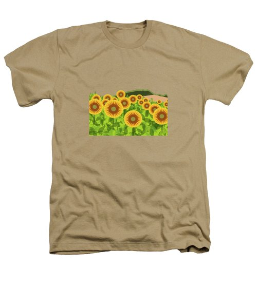 Land Of Sunflowers. Heathers T-Shirt by Absentis Designs