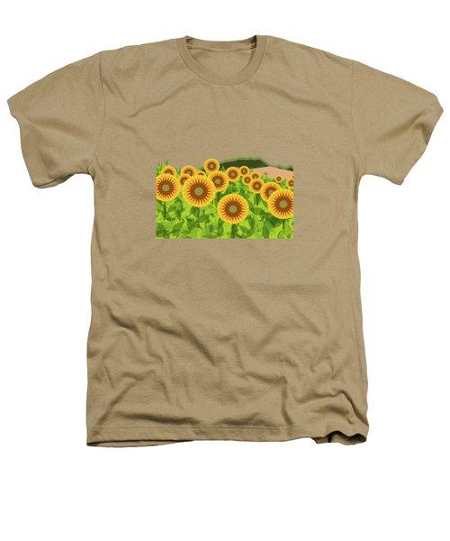 Land Of Sunflowers. Heathers T-Shirt