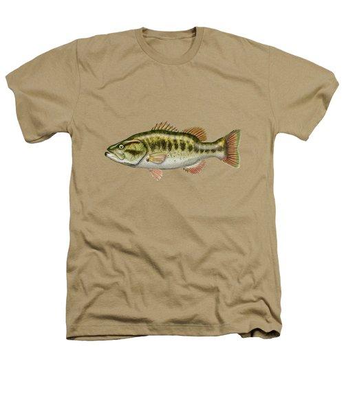 Largemouth Bass Heathers T-Shirt by Serge Averbukh