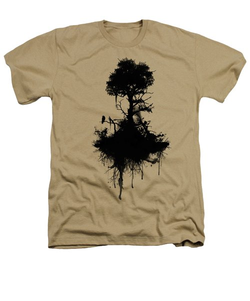 Last Tree Standing Heathers T-Shirt by Nicklas Gustafsson