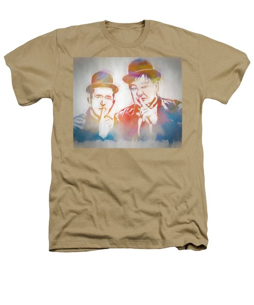 Laurel And Hardy Heathers T-Shirt by Dan Sproul