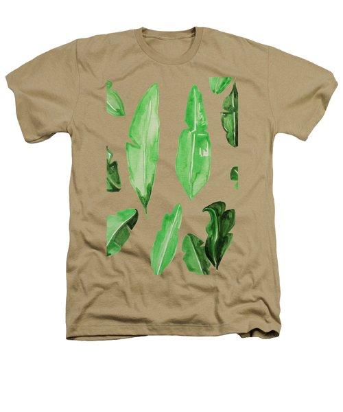 Leaves Heathers T-Shirt by Cortney Herron