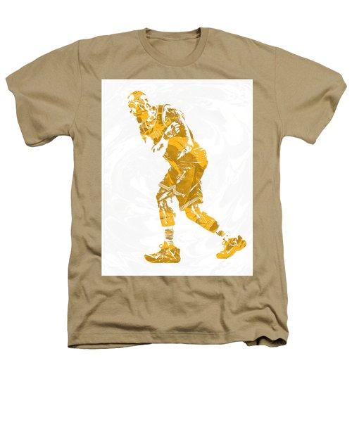 Lebron James Cleveland Cavaliers Pixel Art 13 Heathers T-Shirt