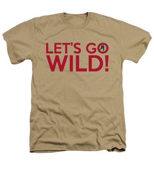 Let's Go Wild Heathers T-Shirt by Florian Rodarte