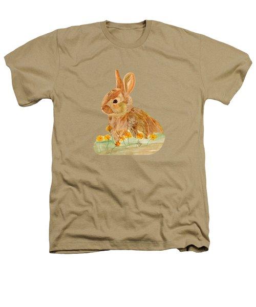 Little Rabbit Heathers T-Shirt by Angeles M Pomata