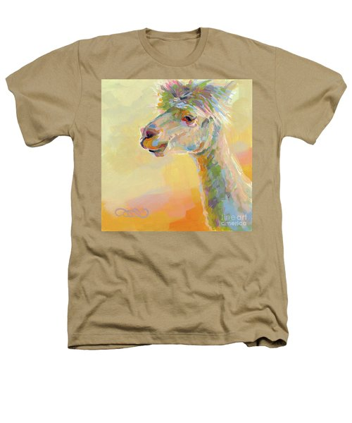 Lolly Llama Heathers T-Shirt by Kimberly Santini