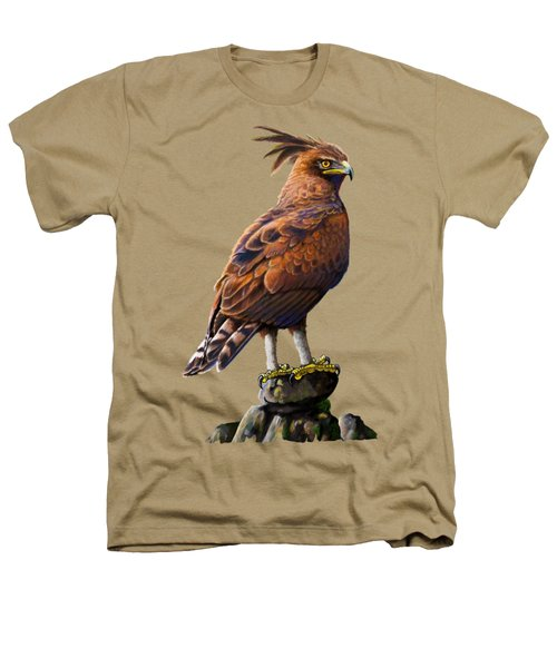 Long Crested Eagle Heathers T-Shirt