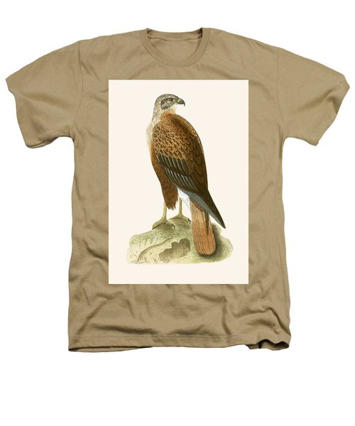 Long Legged Buzzard Heathers T-Shirt by English School