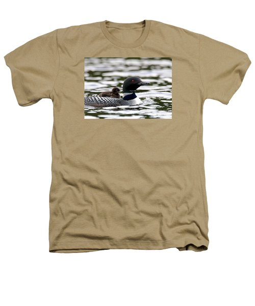 Loon Chick Heathers T-Shirt