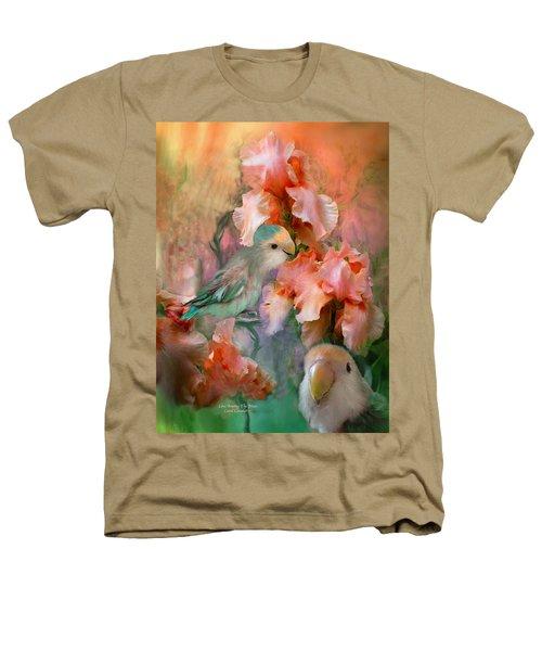 Love Among The Irises Heathers T-Shirt