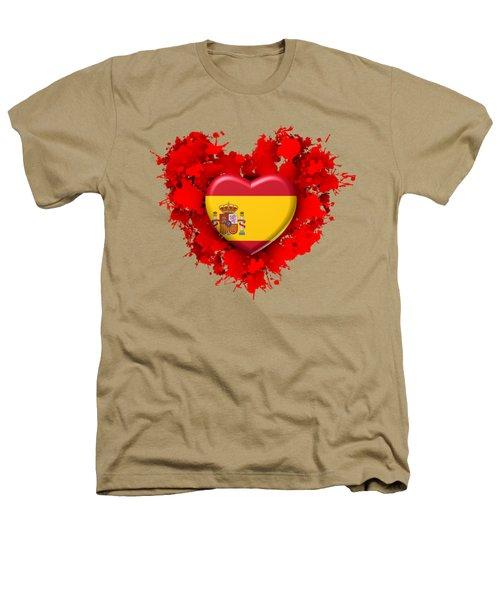 Love Spain 1 Heathers T-Shirt by Alberto RuiZ