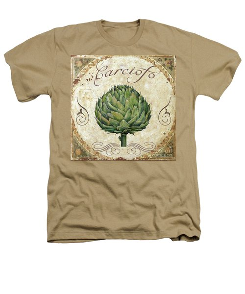 Mangia Artichoke Heathers T-Shirt by Mindy Sommers