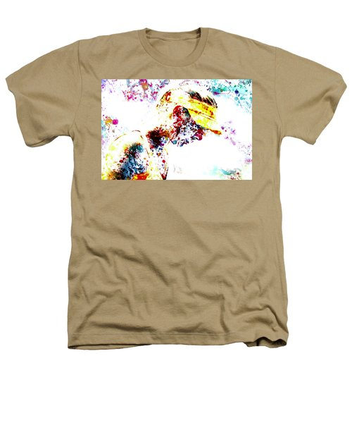 Maria Sharapova Paint Splatter 4p                 Heathers T-Shirt by Brian Reaves