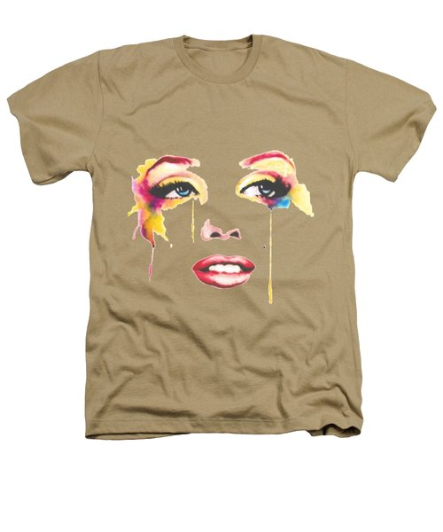 Marilyn T-shirt Heathers T-Shirt by Herb Strobino
