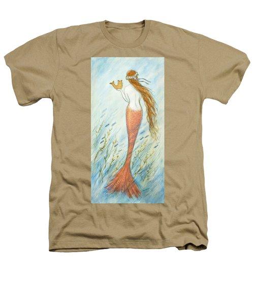 Mermaid And Her Catfish, Goldie Heathers T-Shirt