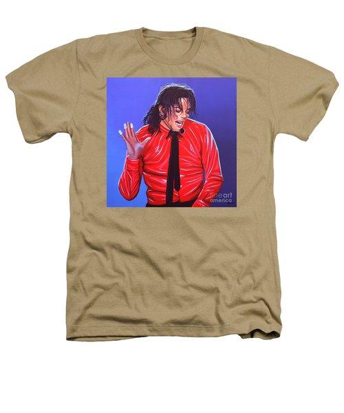Michael Jackson 2 Heathers T-Shirt