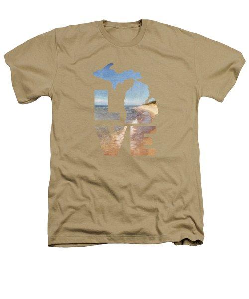 Michigan Love Heathers T-Shirt