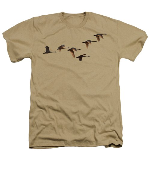 Migrating Swans Heathers T-Shirt