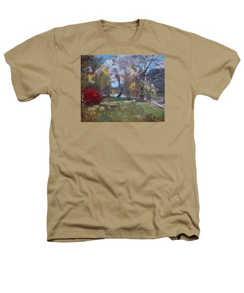 Mixed Weather In A Fall Afternoon Heathers T-Shirt by Ylli Haruni