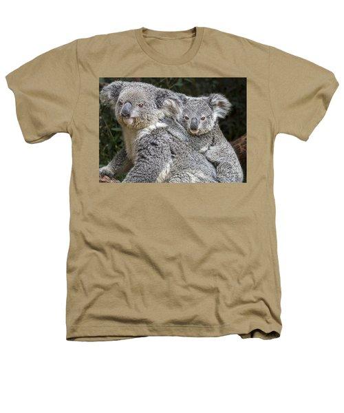 Mommy Hugs Heathers T-Shirt by Jamie Pham