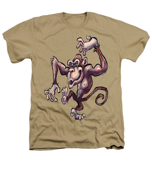 Monkey Heathers T-Shirt by Kevin Middleton