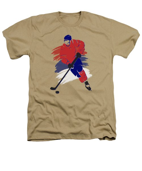 Montreal Canadiens Player Shirt Heathers T-Shirt by Joe Hamilton