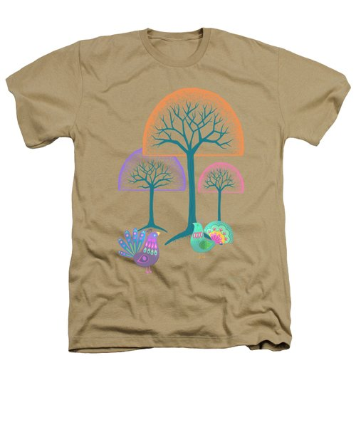 Moon Bird Forest Heathers T-Shirt