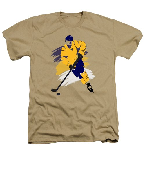 Nashville Predators Player Shirt Heathers T-Shirt by Joe Hamilton