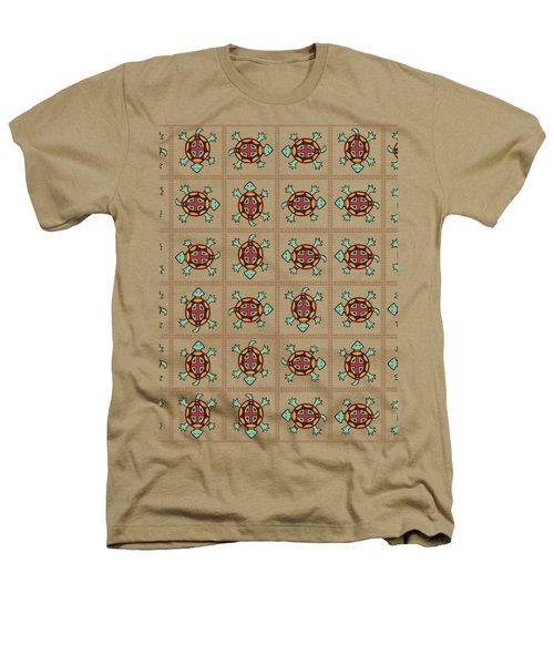 Native American Pattern Heathers T-Shirt